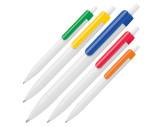 Kugelschreiber mit farbigem Clip